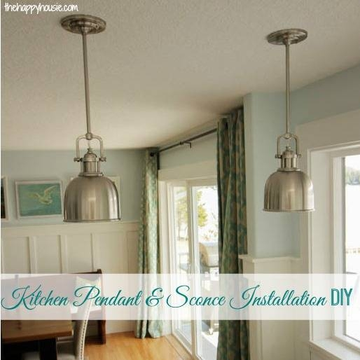 How To Install Your Own Light Fixture | The Happy Housie Within Build Your Own Pendant Lights (#13 of 15)