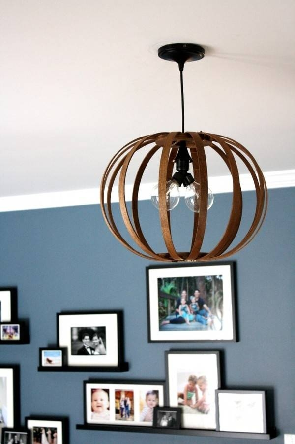 How To: Make A Diy Bent Wood Pendant Light | Man Made Diy | Crafts Intended For Bent Wood Pendant Lights (#8 of 15)