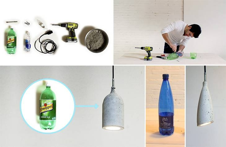 How To Make Concrete Pendant Lamp – Diy & Crafts – Handimania Within Diy Concrete Pendant Lights (#12 of 15)