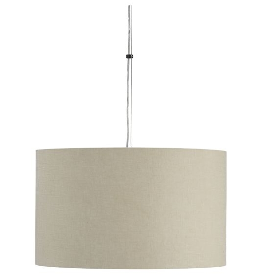 How To Make Your Own Drum Shade Pendant Lamp Throughout Crate And Barrel Shades (#7 of 15)