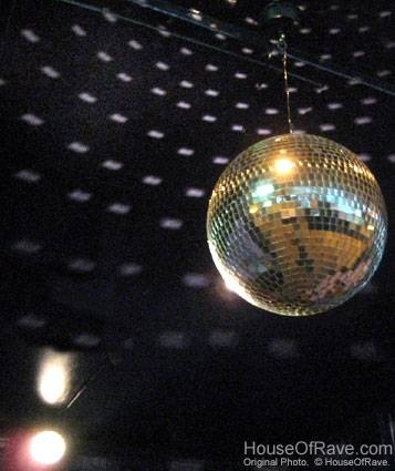 How To Set Up A Disco Ball At Houseofrave Throughout Disco Ball Ceiling Lights Fixtures (#10 of 15)