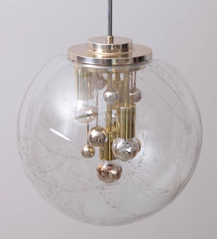 Huge Sputnik Bubble Glass Pendant Lampdoria At 1Stdibs Pertaining To Bubble Glass Pendant Lights (#11 of 15)