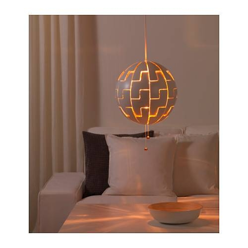 Ikea Ps 2014 Pendant Lamp – White/copper Color – Ikea Throughout Ikea Globe Pendant Lights (View 5 of 15)