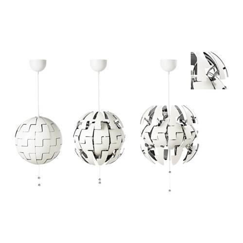 Ikea Ps 2014 Pendant Lamp – White/silver Color – Ikea In Ikea Globe Pendant Lights (View 9 of 15)