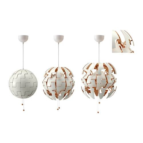 Ikea Ps 2014 Pendant Lamp – White/silver Color – Ikea Within Ikea Globe Pendant Lights (View 11 of 15)