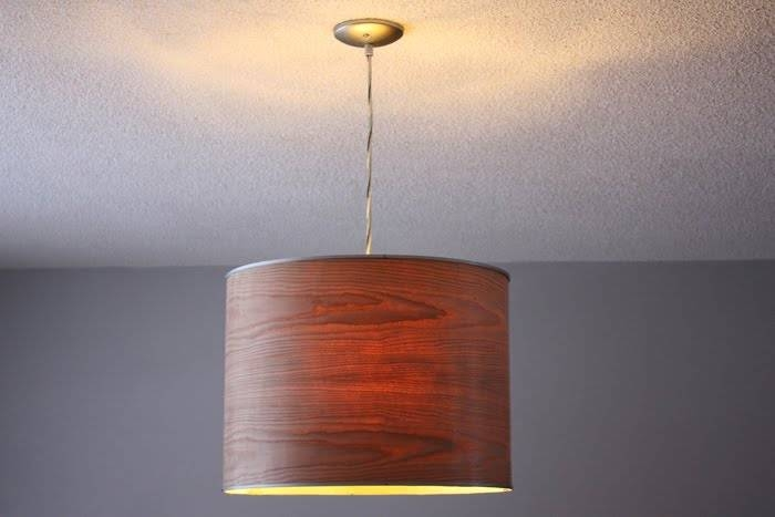 Ikea Rutbo Turned Wood Veneer Pendant – Ikea Hackers – Ikea Hackers Pertaining To Wood Veneer Pendant Lights (View 12 of 15)