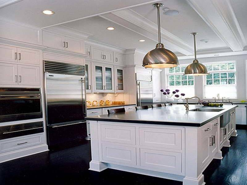 Incredible White Kitchen Island Lighting How To Figure Spacing For With Pendants For Kitchen Island (#7 of 15)