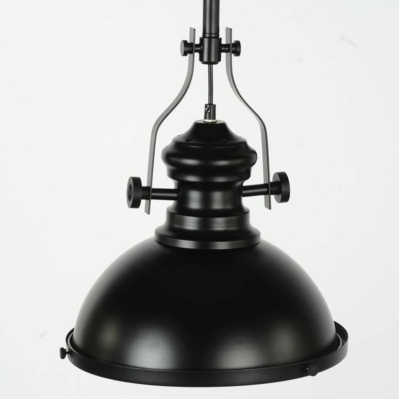 Industrial Black Ceiling Pendant Light Fitting – Melody Maison® Pertaining To Industrial Pendant Lights Fittings (View 8 of 15)