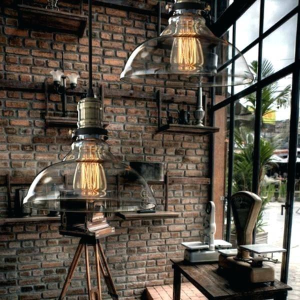Industrial Glass Pendant – Maternalove Intended For Milk Glass Australia Pendant Lights (#14 of 15)