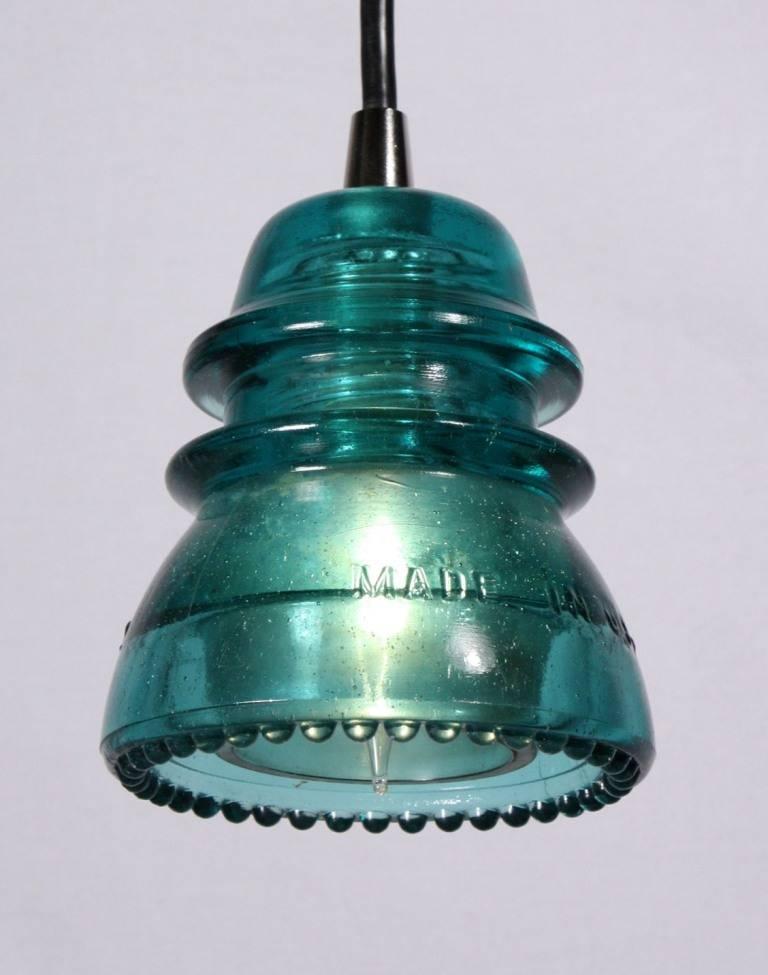 15 inspirations of antique insulator pendant lights for Antique insulator pendant lights