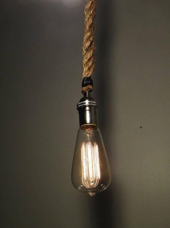 Interesting Rope Pendant Light Fancy Pendant Remodel Ideas With For Fancy Rope Pendant Lights (View 4 of 15)