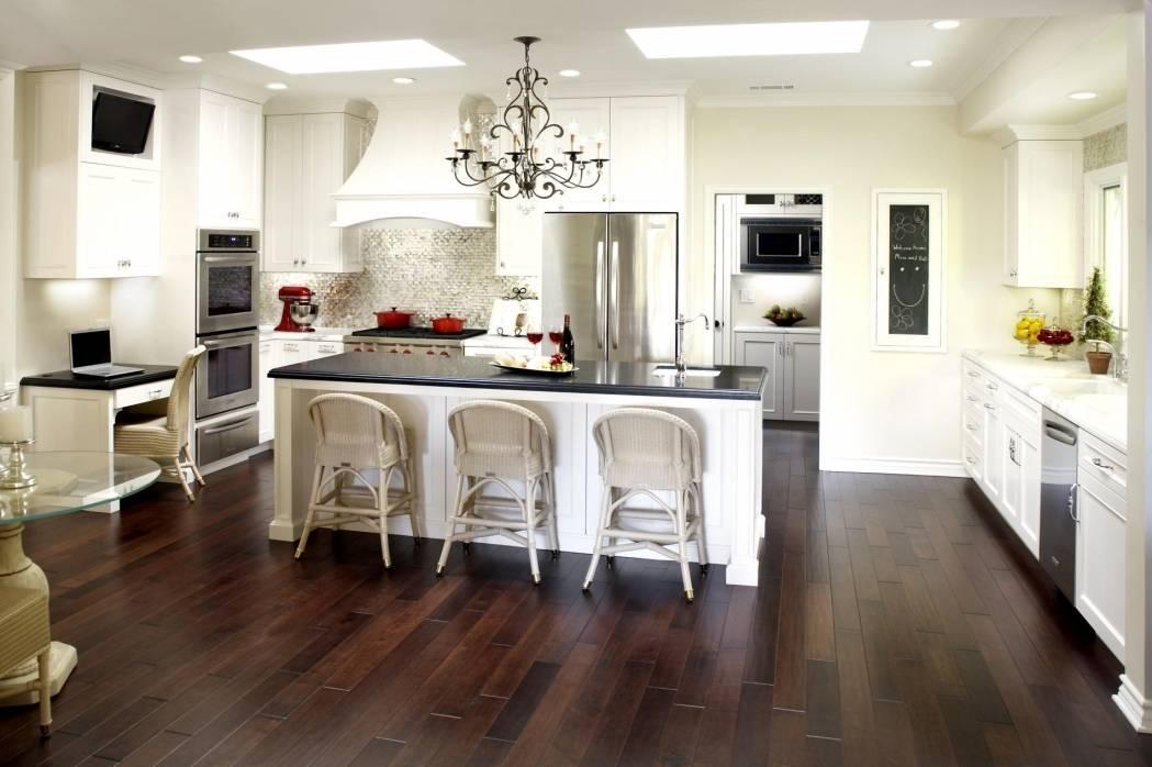 Interior Design : 15 Kitchen Without Upper Cabinets Interior Designs Regarding Stainless Steel Kitchen Lights (View 6 of 15)