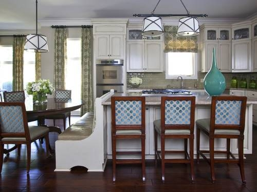 Is The Grosvenor Pendant Over The Table The Small Or Large Size? With Regard To Grosvenor Pendant Lights (#13 of 15)
