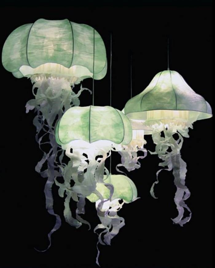Jellyfish Inspired Pendant Lights Ideas | Myarchipress Regarding Jellyfish Inspired Pendant Lights (View 6 of 15)