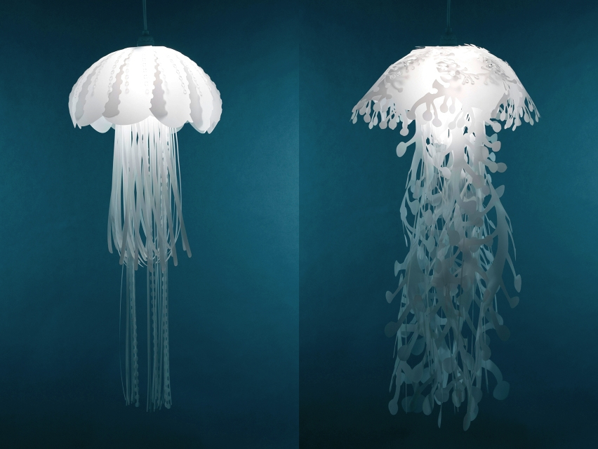 Jellyfish Inspired Pendant Lightsdanlev On Deviantart In Jellyfish Inspired Pendant Lights (View 12 of 15)