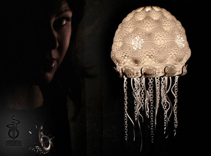 Jellyfish Lampshade Top : Part A (3Elbkcfar)Unellenu In Jellyfish Lights Shades (#11 of 15)