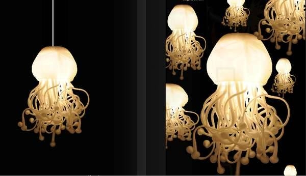 Jellyfish Lighting : Spermatozoi Collection In Jellyfish Inspired Pendant Lights (View 7 of 15)