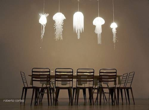 Jellyfish Pendant Lamps For You And Captain Nemo | Offbeat Home & Life In Jellyfish Pendant Lights (#10 of 15)