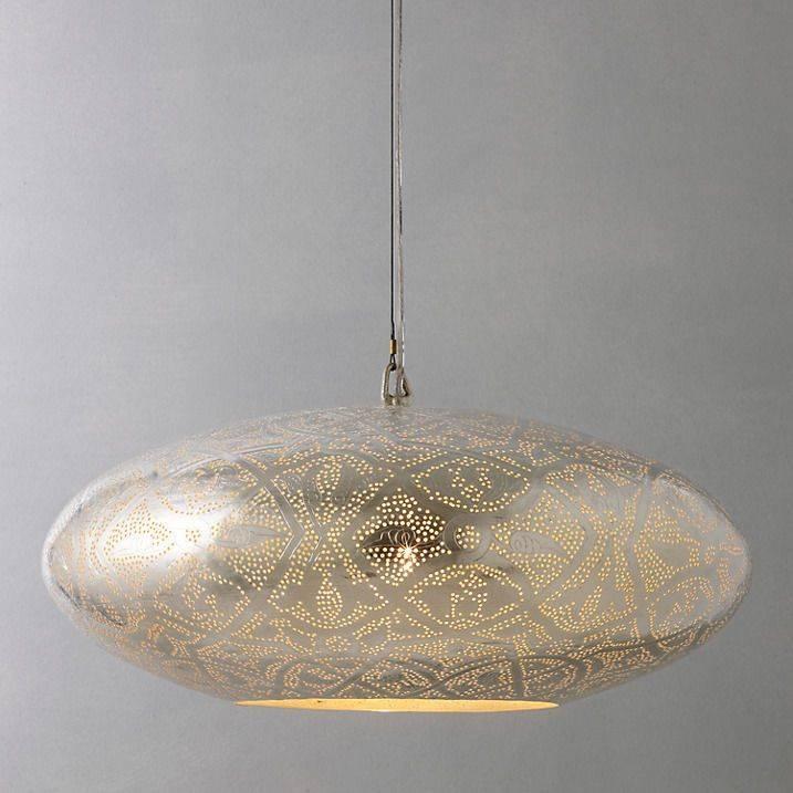 15 photo of oval pendant lights fixtures john lewis zenza filigrain oval pendant ceiling light rrp 255 within oval pendant lights fixtures aloadofball Images