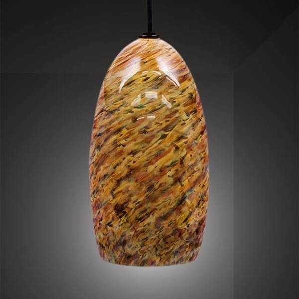 Jupiter Hand Blown Pendant Light | Artisan Crafted Lighting In Blown Glass Ceiling Lights (#8 of 15)