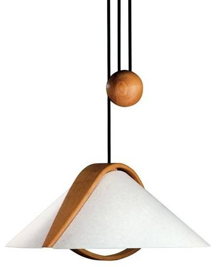 Justice Design Dom 8551 Arta Beech Wood Pull Down Domus Collection For Pull Down Pendant Lights (#9 of 15)