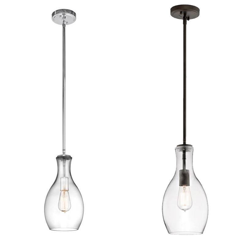 "Kichler 42456 Everly Retro 14"" Tall Mini Pendant Light – Kic 42456 For Kichler Pendant Lights Fixtures (#7 of 15)"