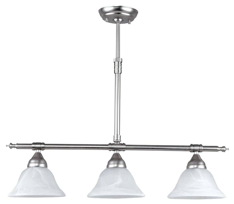 Kitchen Island ~ Landmark Lighting Chadwick 3 Light Kitchen Island Regarding Landmark Lighting Chadwick Pendants (#7 of 15)