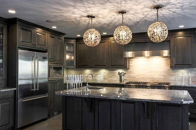 Kitchen Light Fixtures Flush Mount White Marble Countertop Beige Inside Stainless Steel Kitchen Lights (View 4 of 15)