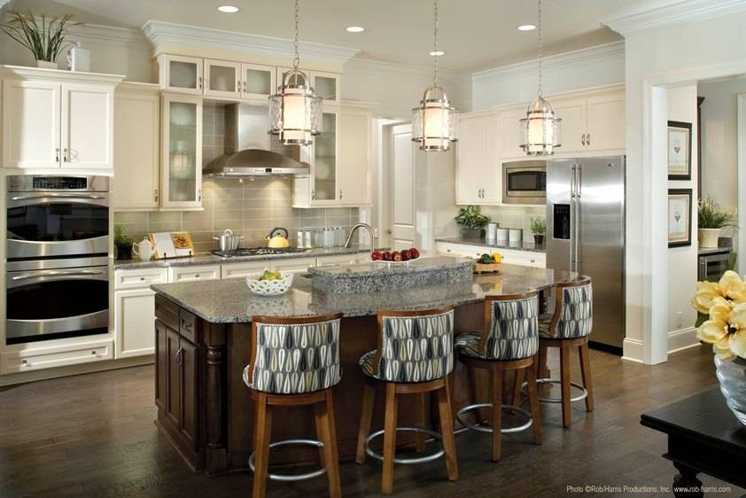 Kitchen Lighting: Awesome Kitchen Pendant Lighting Design Intended For Stainless Steel Kitchen Pendant Lights (#6 of 15)