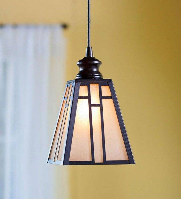 Kitchen Mission Style Lighting – Mission Style Lighting Gallery Within Mission Style Pendant Lights (#4 of 15)