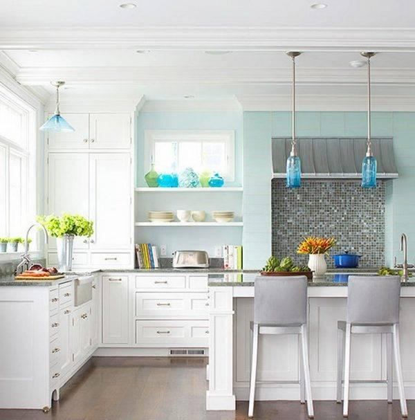 Kitchen Pendant Lighting: 15 Great Concept Design Ideas – Home Loof Within Blue Kitchen Pendant Lights (#11 of 15)