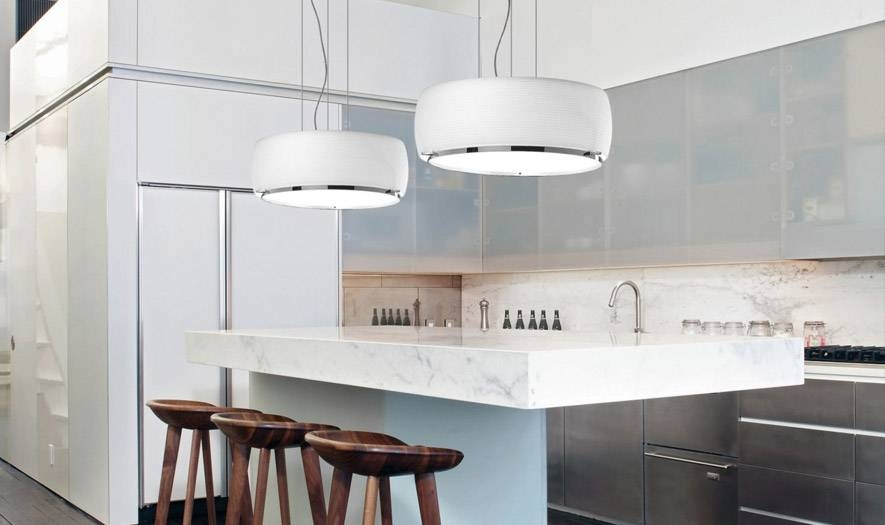 Kitchen Pendant Lighting Ideas | Kitchen Pendant Guide At Lumens Within Drum Pendant Lighting (#10 of 15)
