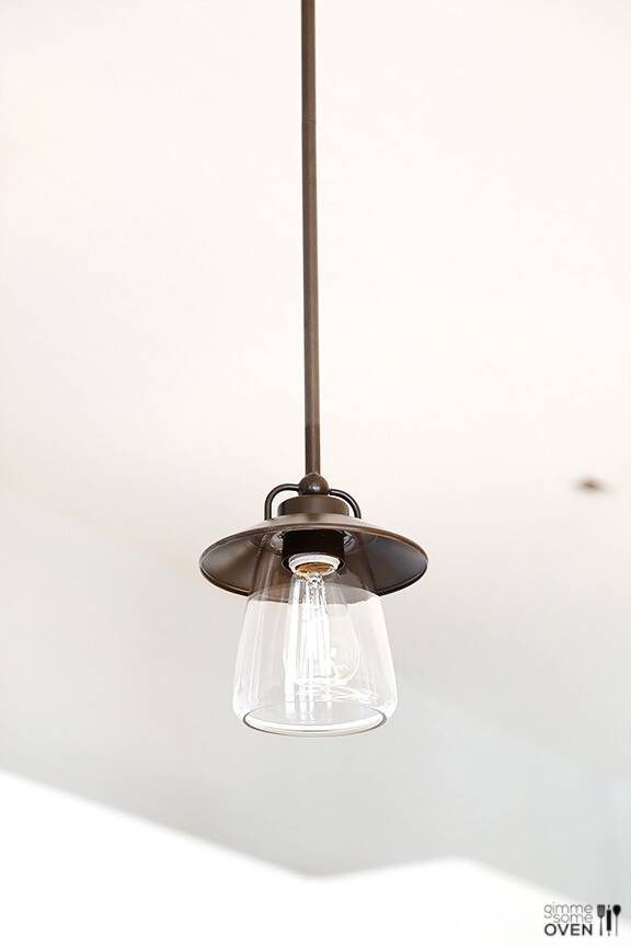 Kitchen Remodel Lighting And Flooring From Lowe's Intended For Lowes Mini Pendants (View 7 of 15)