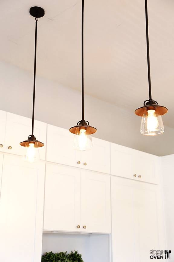 Kitchen Remodel Lighting And Flooring From Lowe's With Lowes Edison Lighting (#10 of 15)