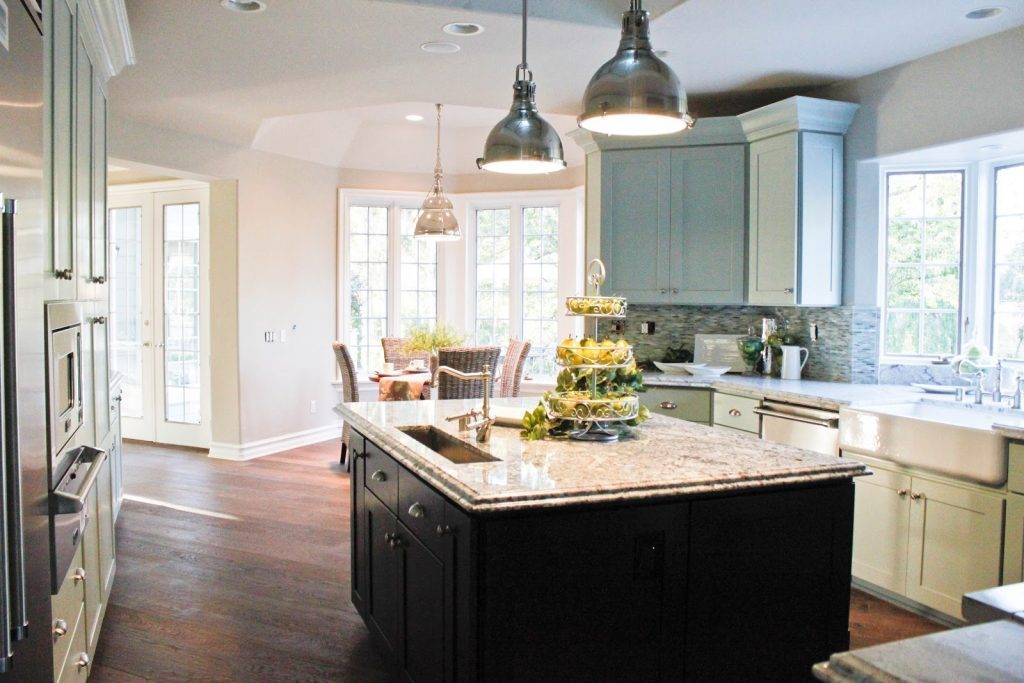 Kitchen ~ Stainless Steel Pendant Lights For Kitchen Islands Inside Stainless Steel Pendant Lights For Kitchen (#4 of 15)
