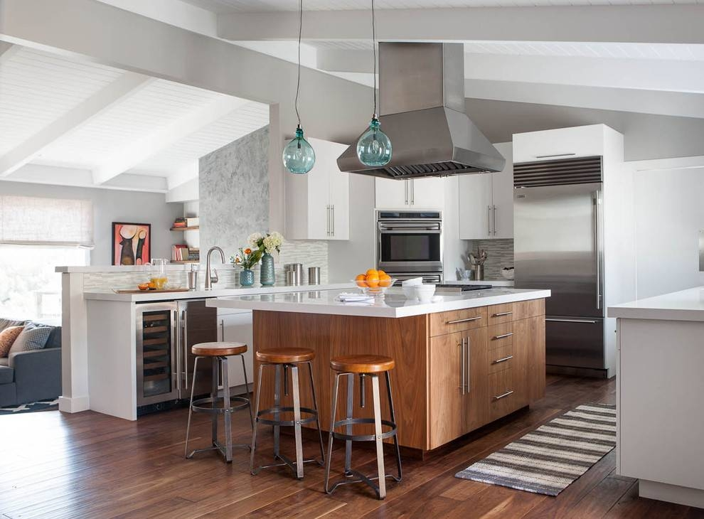 Kitchen | The Aquaria Pertaining To Blue Kitchen Pendant Lights (#12 of 15)