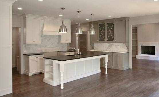 Kitchens – Restoration Hardware Benson Pendant Gray Painted For Benson Pendants (View 6 of 15)