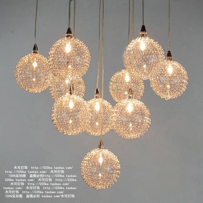 Lamp Fixtures Picture – More Detailed Picture About 2015 Modern Intended For Wire Ball Lights Pendants (#7 of 15)