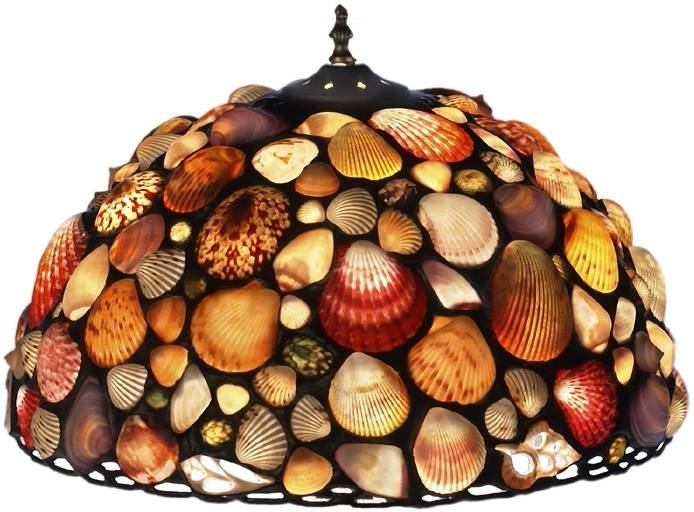 Viewing photos of shell lights shades showing 6 of 15 photos inspiration about lamp shades most creative shell lamp shade design ideas gallery regarding shell lights mozeypictures Gallery