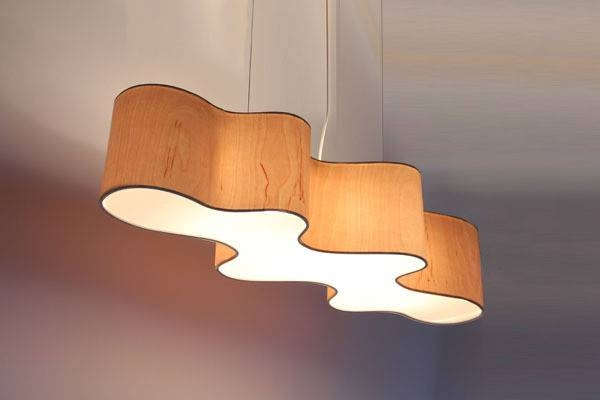 Inspiration about Lampa Cloud Mesa | Lampa Cloud Mesa Pendant Light For Wood Veneer Pendant Lights (#15 of 15)
