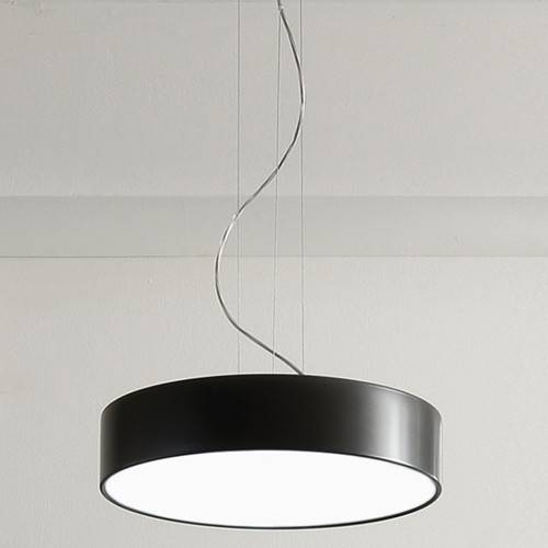Large Drum Pendant Light | Unsilenced Intended For Black Drum Pendant Lights (#8 of 15)