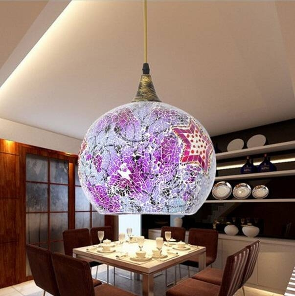 Large Glass Pendant Is More Attractive For Home Decorating | Save Within Large Glass Ball Pendant Lights (#9 of 15)