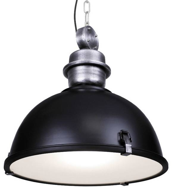 Large Industrial Warehouse Pendant Light – Industrial – Pendant Within Warehouse Pendant Light Fixtures (View 2 of 15)