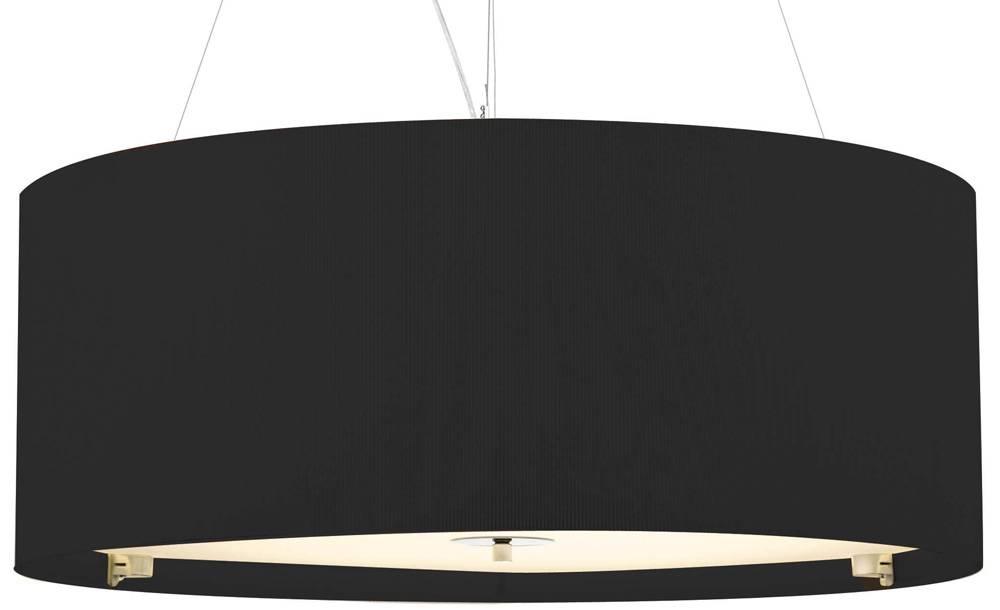 Large Pendant Lighting Uk | Roselawnlutheran Regarding Black Drum Pendant Lights (#9 of 15)