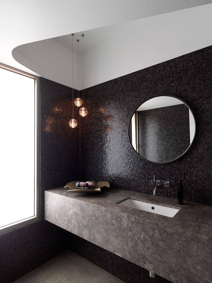 Layered Lighting Bathroom Contemporary With Pendant Lights Modern In Modern Pendant Lights Sydney (#7 of 15)