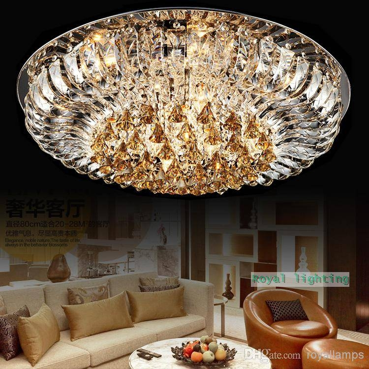 Led Lamps Modern Luxury Ceiling Hanging Lights Swan Lake 100 For Luxury Pendant Lights (#7 of 15)