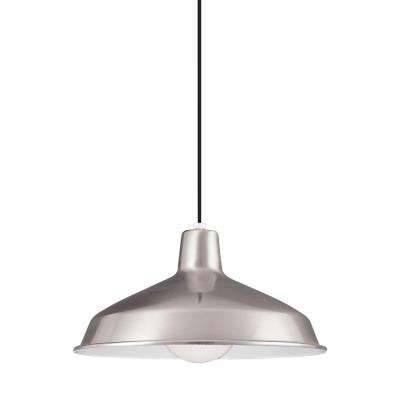 Led Stainless Steel Pendant Lights Hanging The Home Inside Brushed