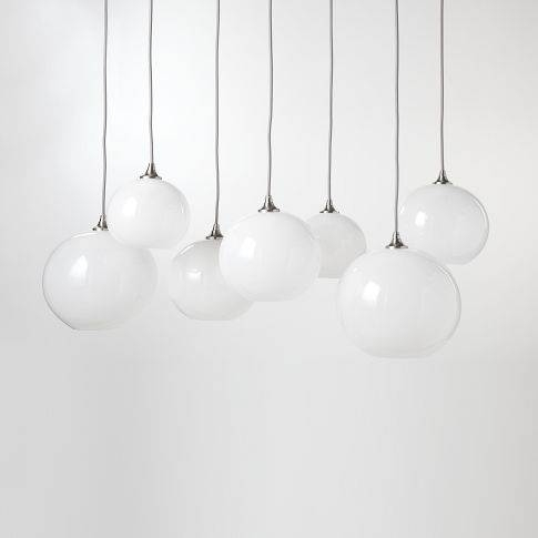 Let There Be Light: Chandeliers And Pendants — Rehabitat Pertaining To Glass Orb Lights (#12 of 15)