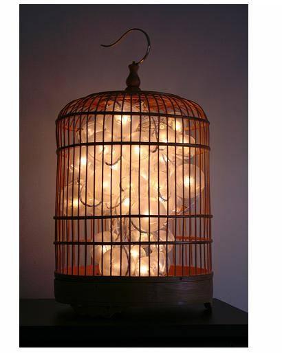 Let's Stay: Cool Birdcage Lamps Vinatge Birdcage Lanterns In Birdcage Lights Fixtures (#13 of 15)