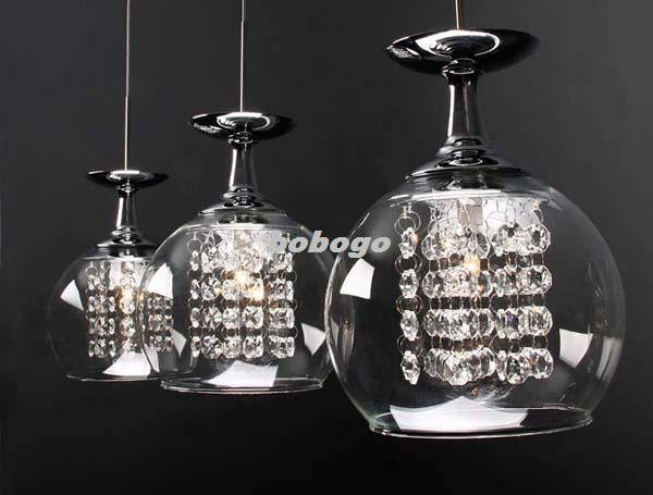 Light Fixture : Glass Light Fixtures – Home Lighting In Wine Glass Lights Fixtures (#10 of 15)